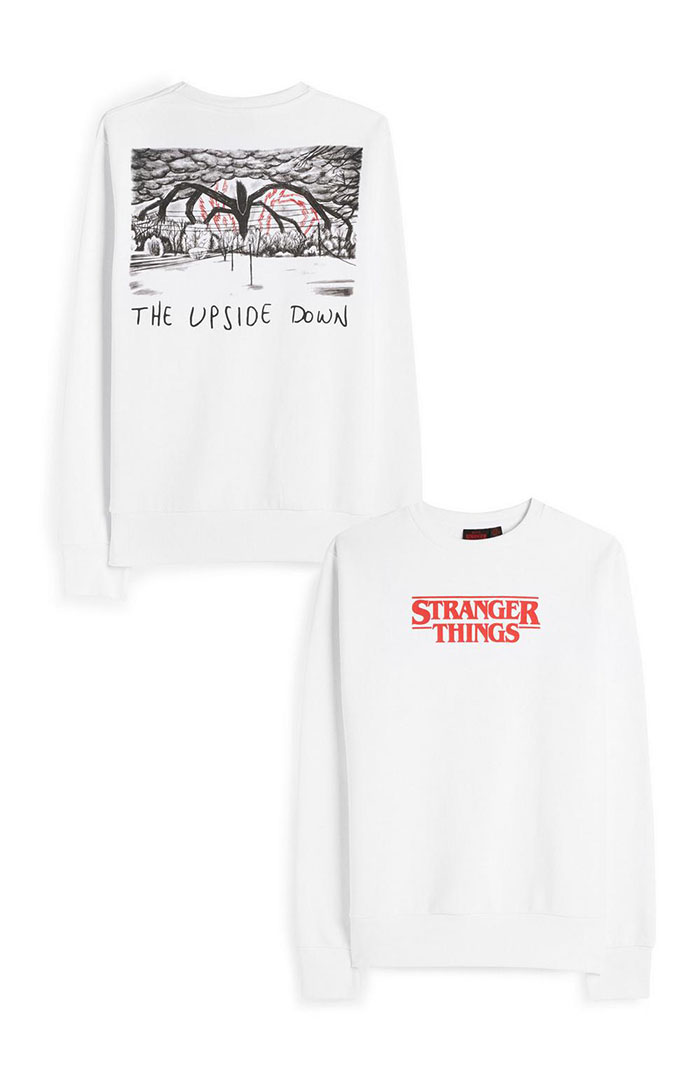 white stranger things sweater