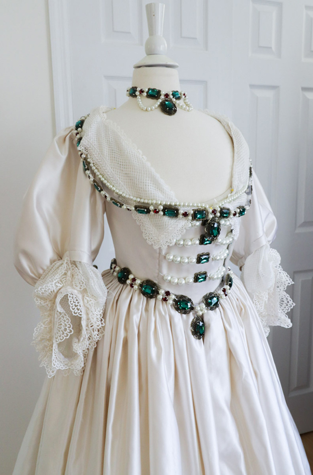 1930s gown ensemble