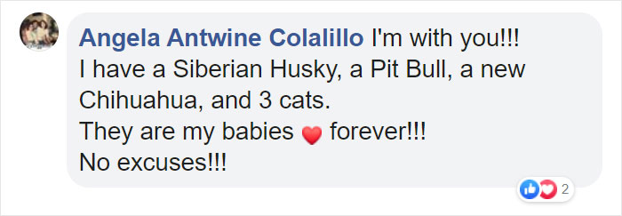 Angela Antwine Colalillo Facebook Comment