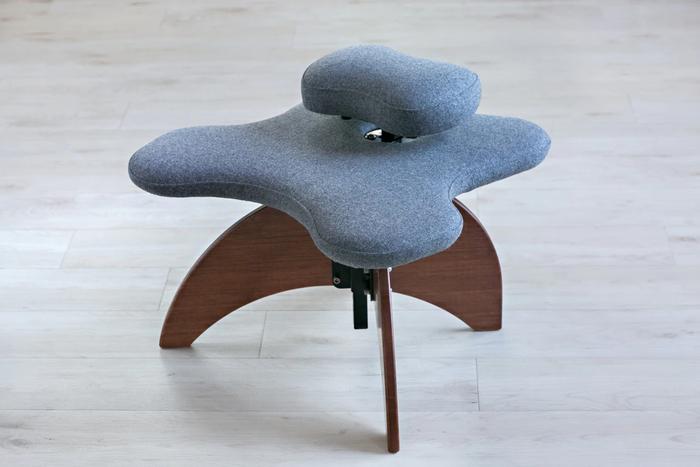 Bamboo Soul Seat in Grey Pendleton Wool Amber