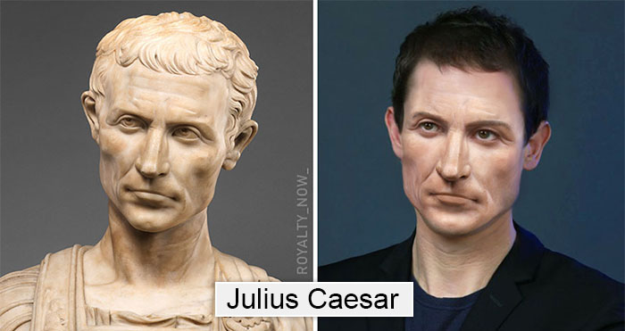 Becca Saladin historical figures reimagined