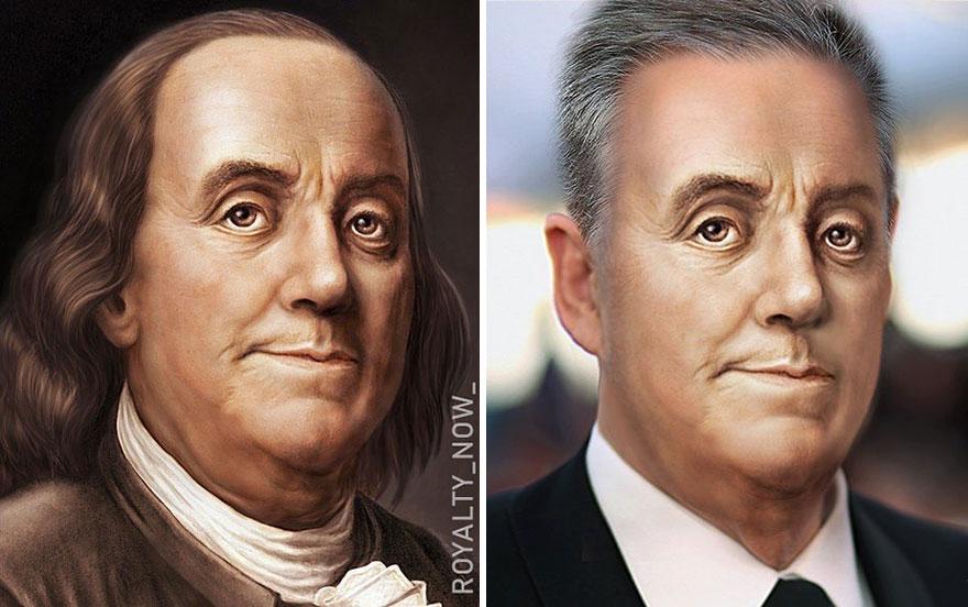 Becca Saladin Benjamin Franklin