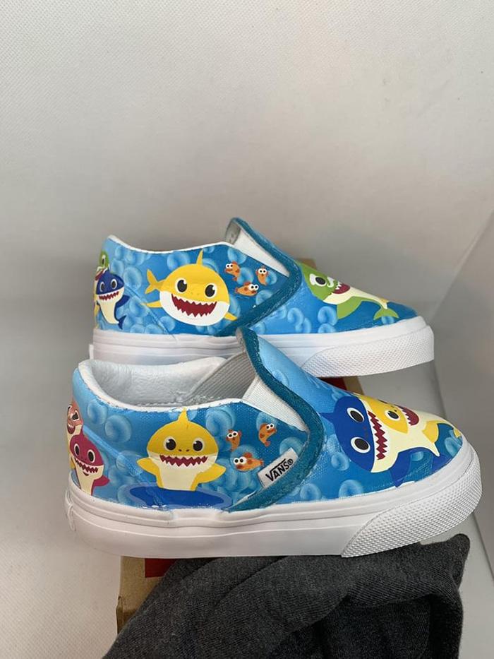 Custom Shoes for Children by 818VinylCreations