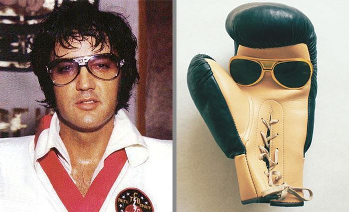 Boxing Gloves That Looks Like Elvis Presley