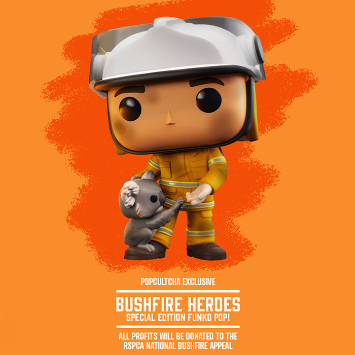 Bushfire Heroes Promotional Ad