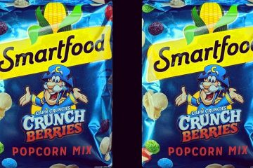 Cap'n Crunch's Berries Popcorn Mix