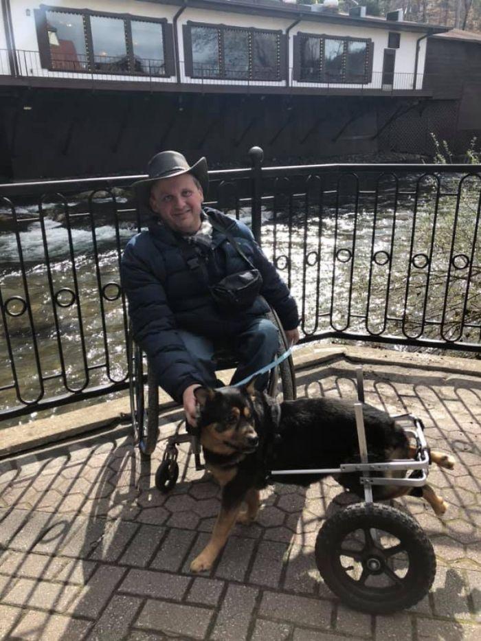 Darrell Rider and Dog Bandit
