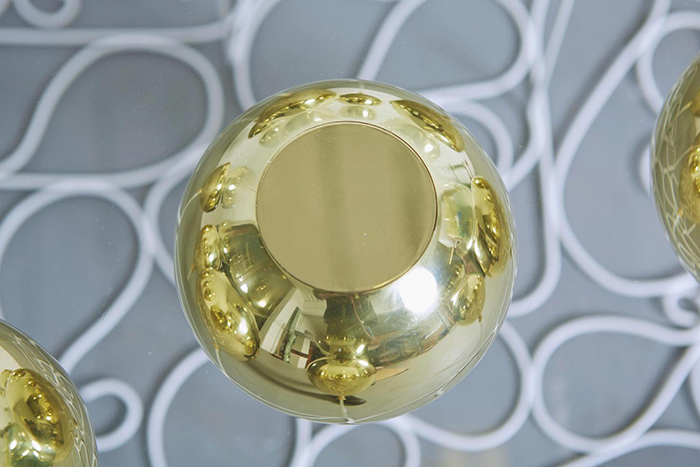 Duffy London Gold Metal Resin Composite Balloon