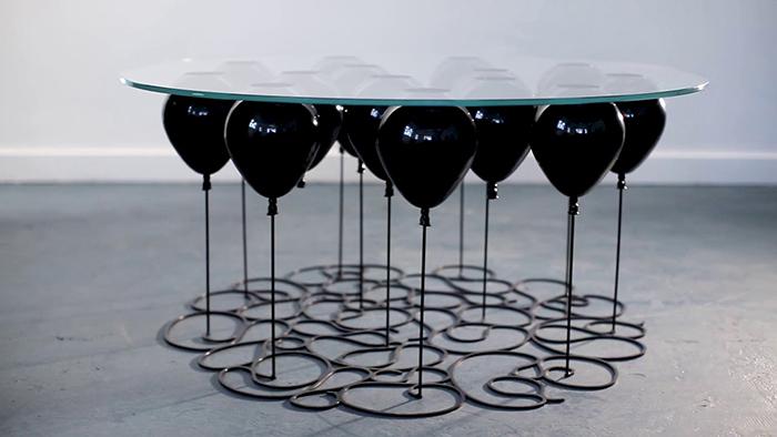 Duffy London UP Balloon Coffee Table Black