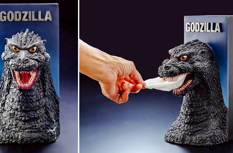 Godzilla Tissue dispenser