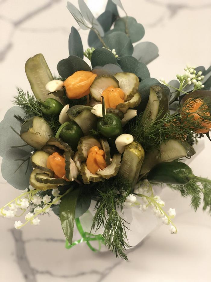 Grillo's Pickle Bouquet