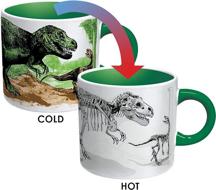 Heat-sensitive Color-changing Dinosaur Cup