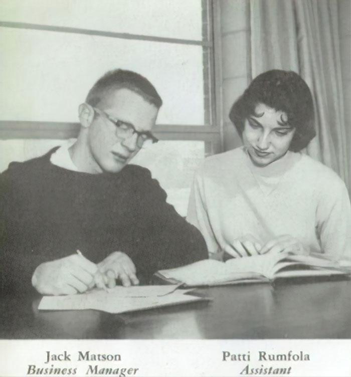Jack Matson and Patti Rumfola