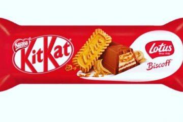 Kit Kat Biscoff