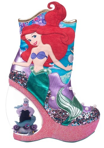 Little Mermaid Wedge Boots 2