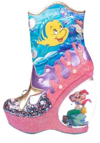 Little Mermaid Wedge Boots 3