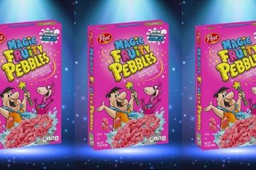 Magic Fruity Pebbles Cereal