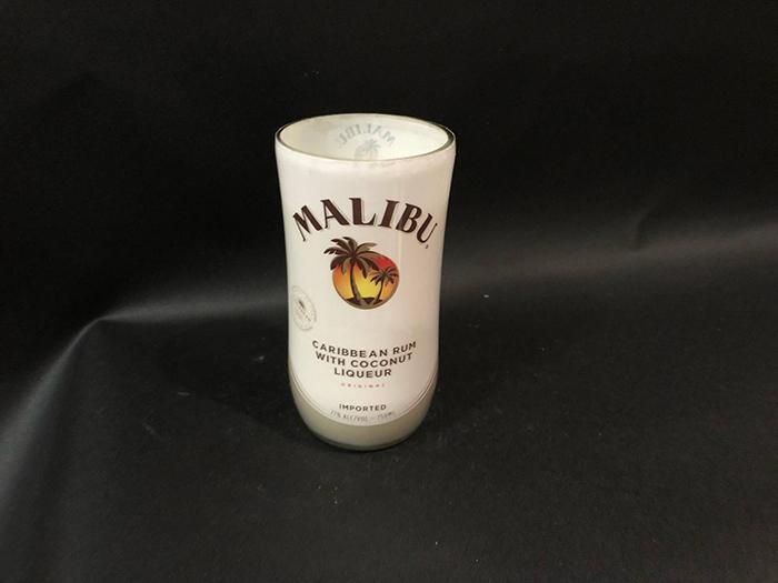 Malibu Rum Candle Front