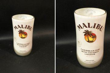 Malibu Rum candle
