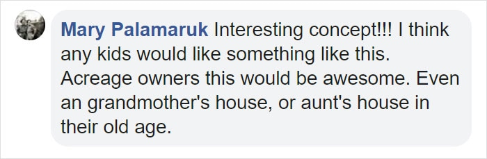 Mary Palamaruk facebook Comment