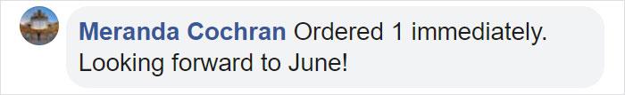Meranda Cochran Facebook Comment