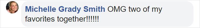 Michelle Grady Smith Facebook Comment