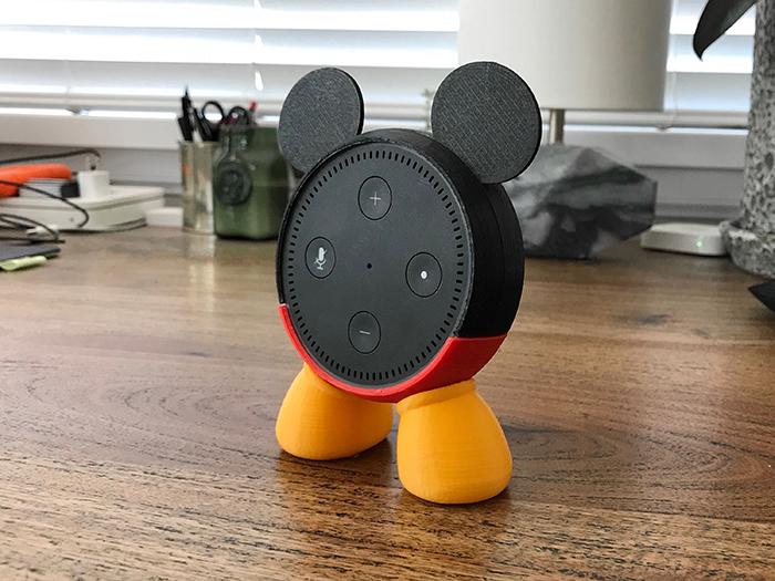 Mickey Mouse Holder for Amazon Echo Dot Smart Speaker