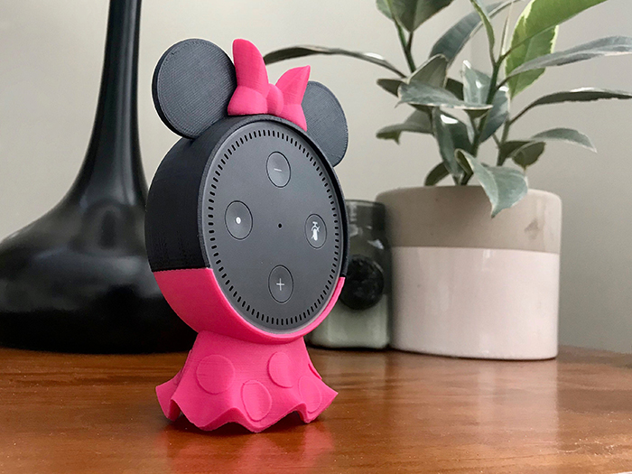 Minnie Mouse Holder for Amazon Echo Dot Smart Speaker