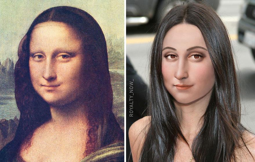 Becca Saladin Mona Lisa