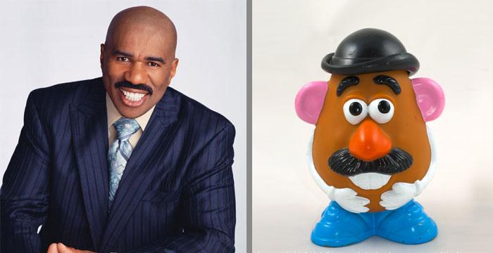 Mr. Potato Head Looks Like Steve Harvey