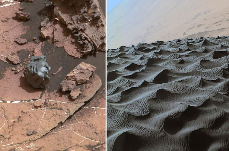 NASA's Curiosity mars photos