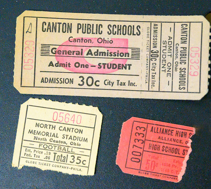 Old Admission Tickets