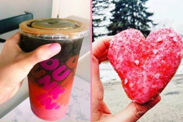 Ombre Pink Velvet drink