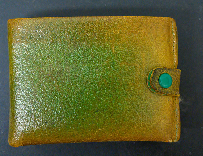 Patti Rumfola's Old Wallet