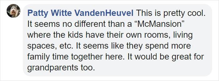 Patty Witte VandenHeuvel Facebook Comment