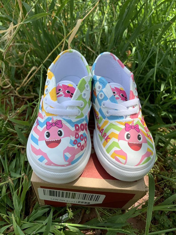 Custom Kids' Shoes by 818VinylCreations