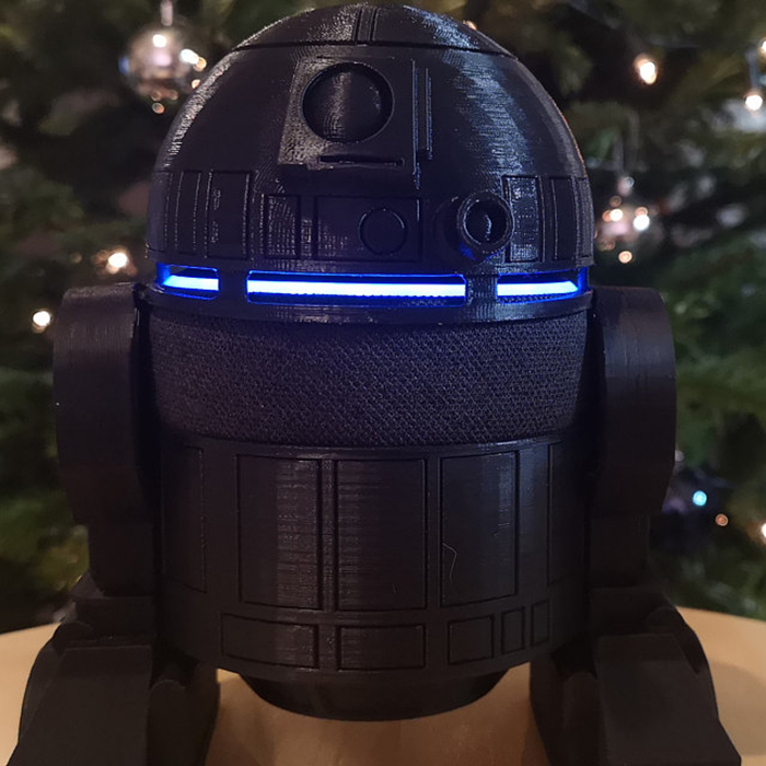R2-D2 Speaker Holder Customer Review Photo by James Collects