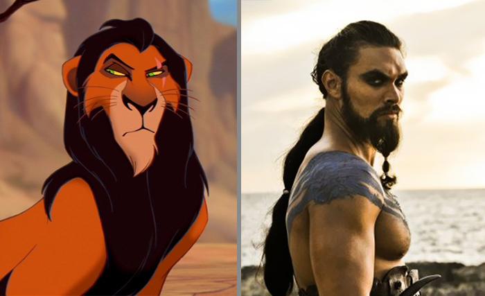 Scar Looks Like Khal Drogo