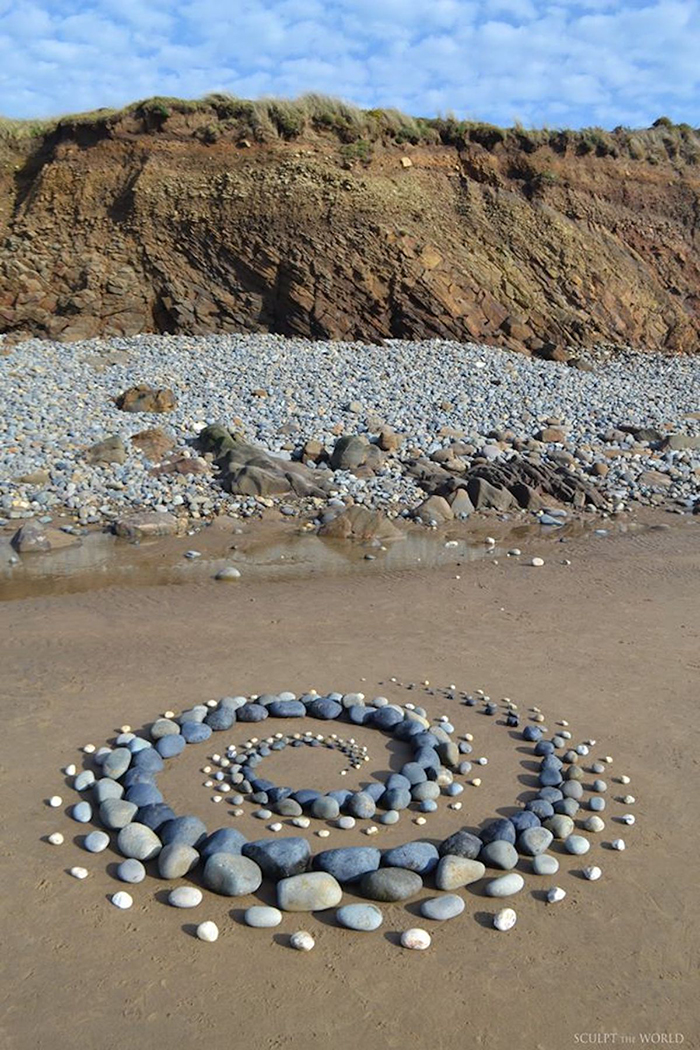 Sculpt The World Celestial Coil Stone Art