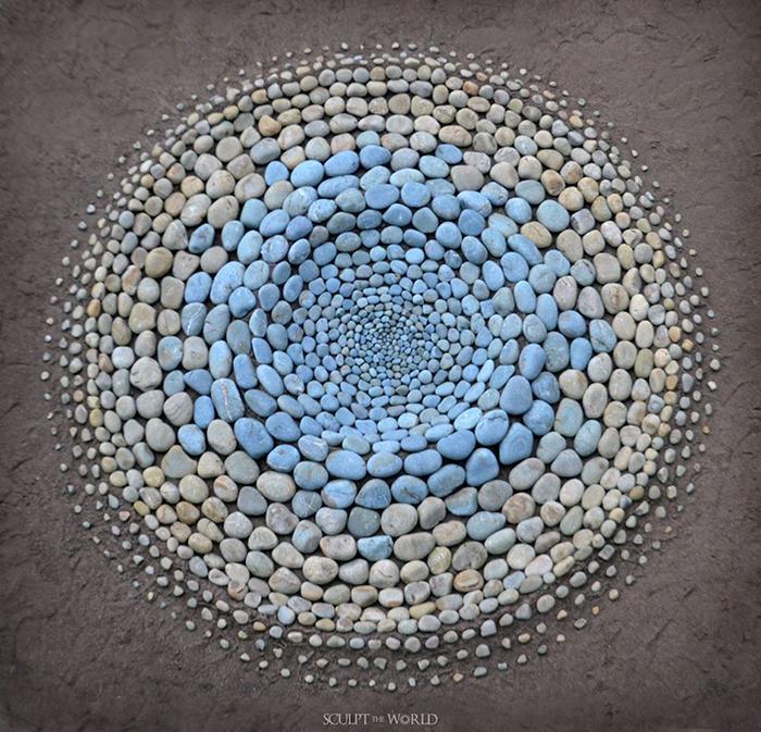 Sculpt The World Stone Art