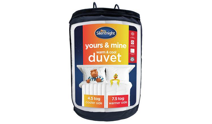Silentnight Yours and Mine Duvet