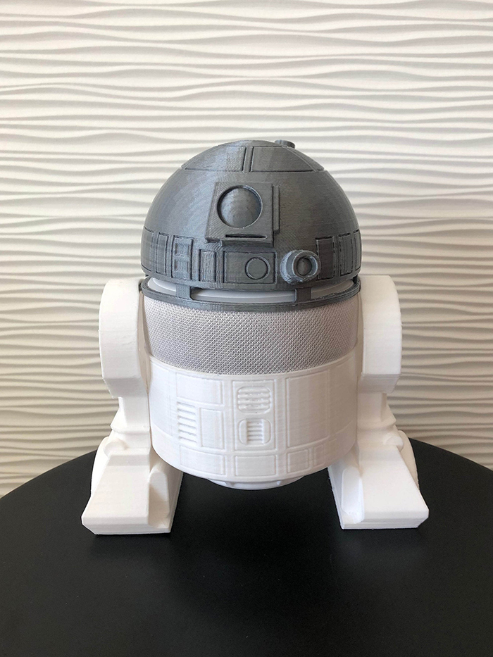 Star Wars-themed Accessory for Amazon Echo Dot 3rd Generation Smart Speaker Assembled