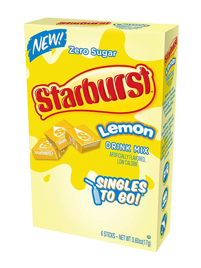 Starburst Singles Lemon