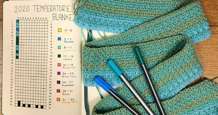 Temperature Blankets