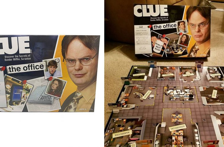 The Office Clue Board game