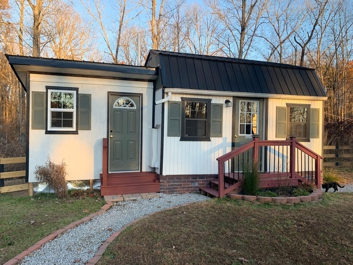 Tiny House with Two Bathrooms for the Children