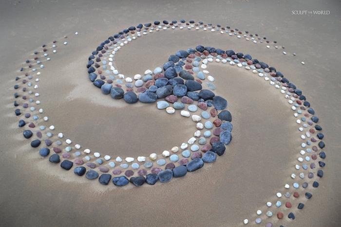 Triplex Momentum Stone Art by Jon Foreman