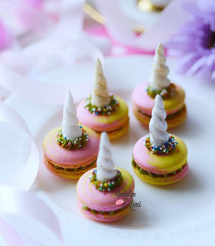 Unicorn-themed Desserts by indulgewithmimi