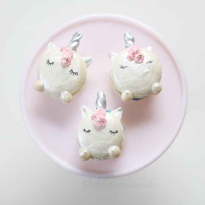 Unicorn-themed Desserts