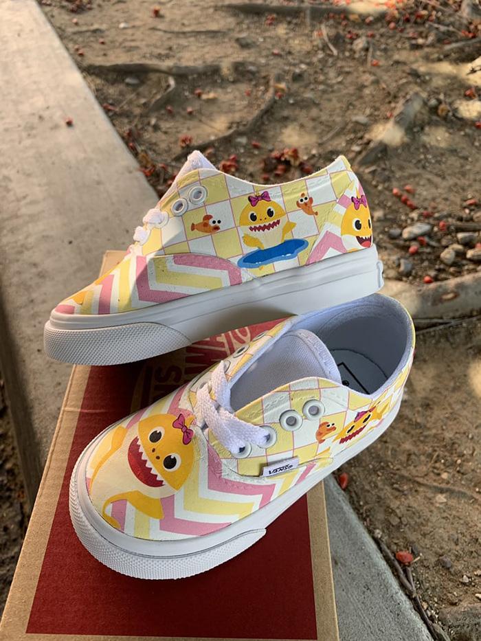 Custom Children's Sneakers by 818VinylCreations